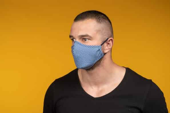 Mască de față 100% bumbac ALISTER