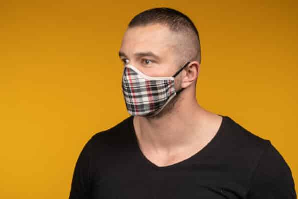 Mască de față 100% bumbac RYDER