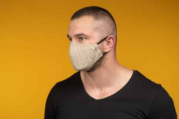 Mască de față 100% bumbac ASHER (Copiază)