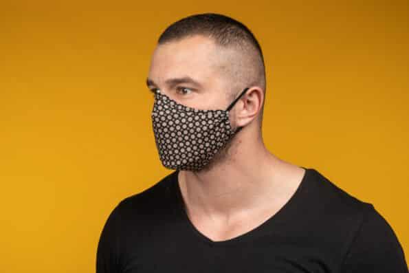 Mască de față 100% bumbac bărbat LIAM (Copiază)